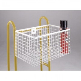 Hook-on wire basket
