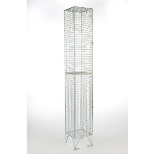 2 Door Mesh Locker