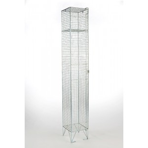 Single Door Mesh Locker